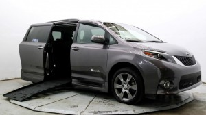 Used Wheelchair Van For Sale: 2015 Toyota Sienna SE Premium 8-Passenger  Wheelchair Accessible Van For Sale with a BraunAbility - Toyota Rampvan XT on it. VIN: 5TDXK3DC3FS593647