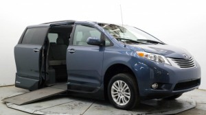 Used Wheelchair Van For Sale: 2014 Toyota Sienna XLE 7-Passenger Mobility Auto Access  Wheelchair Accessible Van For Sale with a VMI - Toyota NorthstarAccess360 on it. VIN: 5TDYK3DC4ES438236