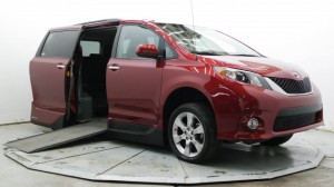 Used Wheelchair Van For Sale: 2013 Toyota Sienna SE 8-Passenger  Wheelchair Accessible Van For Sale with a VMI - Toyota NorthstarAccess360 on it. VIN: 5TDXK3DC6DS306461