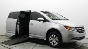 Used Wheelchair Van For Sale: 2015 Honda Odyssey EX-L w/Navigation  Wheelchair Accessible Van For Sale with a VMI - Honda Northstar on it. VIN: 5FNRL5H62FB053278