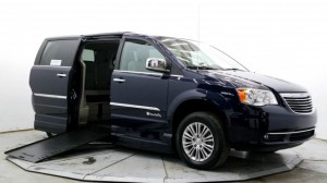 Used Wheelchair Van For Sale: 2015 Chrysler Town and Country Touring-L  Wheelchair Accessible Van For Sale with a BraunAbility - Chrysler Entervan XT on it. VIN: 2C4RC1CG2FR571646