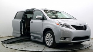Used Wheelchair Van For Sale: 2016 Toyota Sienna Limited Premium 7-Passenger  Wheelchair Accessible Van For Sale with a BraunAbility - Toyota Rampvan XT on it. VIN: 5TDYK3DC2GS755791