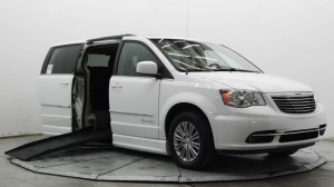 Used Wheelchair Van For Sale: 2016 Chrysler Town and Country Touring-L  Wheelchair Accessible Van For Sale with a BraunAbility - Chrysler Entervan II on it. VIN: 2C4RC1CG5GR119174