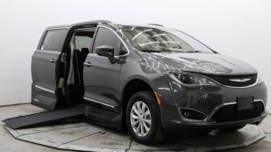 Used Wheelchair Van For Sale: 2017 Chrysler Pacifica Touring Wheelchair Accessible Van For Sale with a VMI - Chrysler Northstar on it. VIN: 2C4RC1BG2HR529952