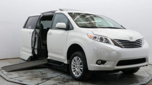 Used Wheelchair Van For Sale: 2017 Toyota Sienna XLE Wheelchair Accessible Van For Sale with a VMI - Toyota NorthstarAccess360 on it. VIN: 5TDYZ3DCXHS884584