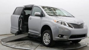 Used Wheelchair Van For Sale: 2017 Toyota Sienna XLE Wheelchair Accessible Van For Sale with a VMI - Toyota NorthstarAccess360 on it. VIN: 5TDYZ3DC1HS873022