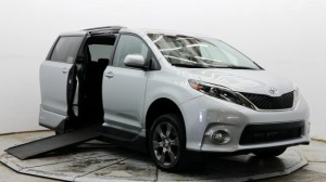 Used Wheelchair Van For Sale: 2016 Toyota Sienna SE Wheelchair Accessible Van For Sale with a VMI - Toyota NorthstarAccess360 on it. VIN: 5TDXK3DC3GS701279
