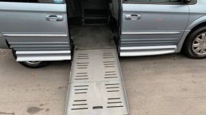 Used Wheelchair Van For Sale: 2004 Chrysler Town & Country Limited Wheelchair Accessible Van For Sale with a BraunAbility - Chrysler Entervan II on it. VIN: 2C8GP64L94R616100