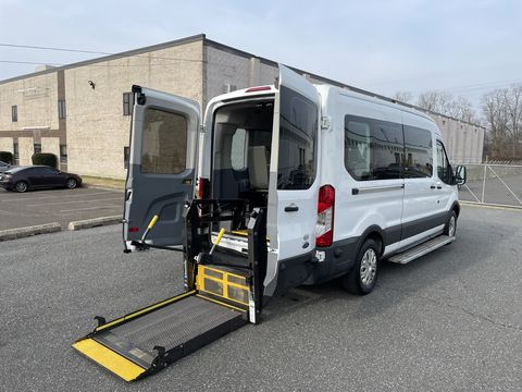 Used Wheelchair Van For Sale: 2017 Ford T-350  Wheelchair Accessible Van For Sale with a Non Branded - Wheelchair Lift & Tiedowns on it. VIN: 	1FBAX2CM2HKA88449