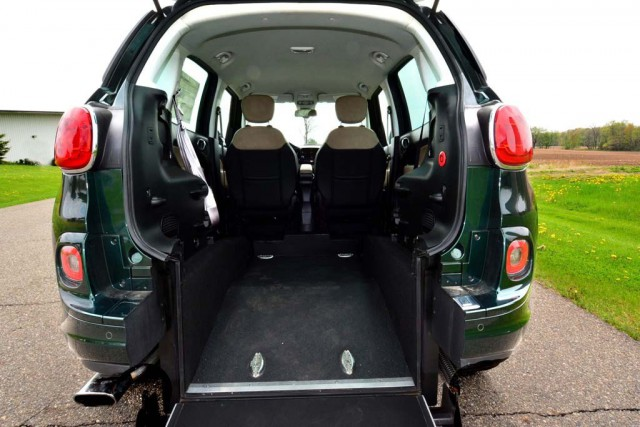 2014 fiat 500l wheelchair van for sale vin Wheelchair lift motor