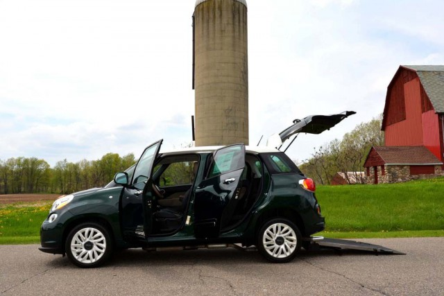 2014 Fiat 500l Wheelchair Van For Sale Vin