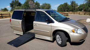 Used Wheelchair Van For Sale: 2007 Chrysler Town & Country Touring Wheelchair Accessible Van For Sale with a Rollx Vans Rollx In Floor Chrysler on it. VIN: 2A4GP54L87R139864