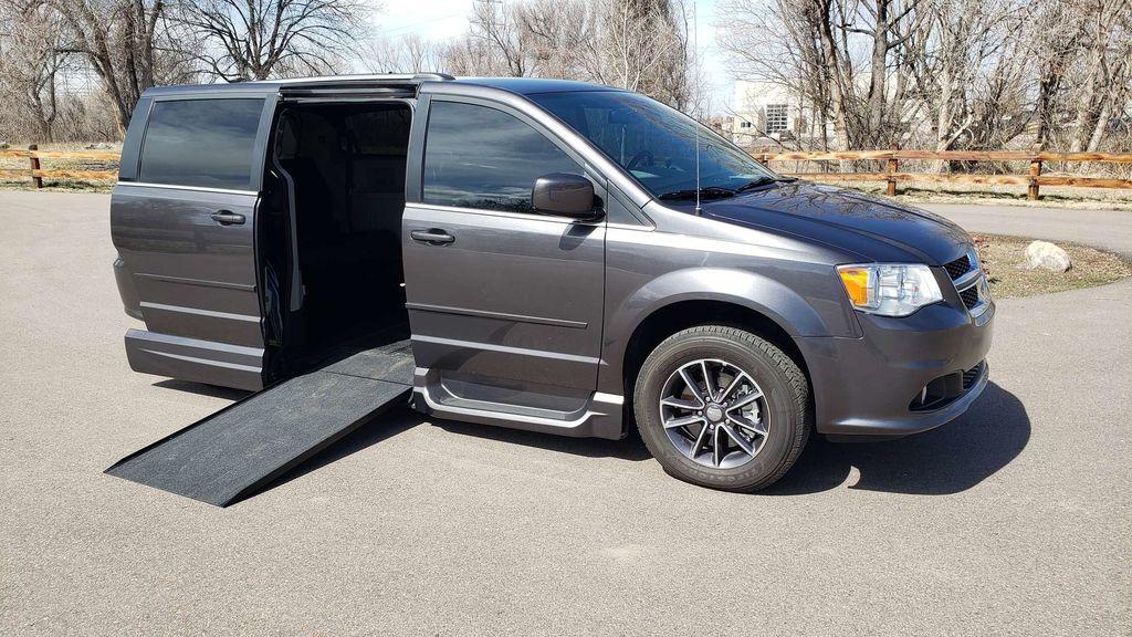 3d1b7b87ee Used Wheelchair Van For Sale  2017 Dodge Grand Caravan Wheelchair  Accessible Van For Sale with