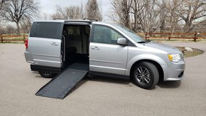 Used Wheelchair Van For Sale: 2017 Dodge Grand Caravan SXT Wheelchair Accessible Van For Sale with a VMI VMI Dodge APEX on it. VIN: 2C4RDGCG9HR858923