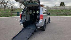 cb5fce4f5c Used Wheelchair Van For Sale  2017 Dodge Grand Caravan SXT Wheelchair  Accessible Van For Sale