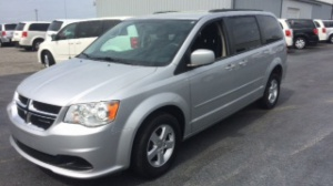 Used Wheelchair Van For Sale: 2011 Dodge Grand Caravan  Wheelchair Accessible Van For Sale with a ATS ATS Rear Entry on it. VIN: 2D4RN3DG4BR731818