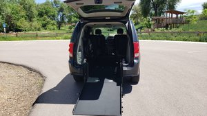 Used Wheelchair Van For Sale: 2011 Dodge Grand Caravan EX Wheelchair Accessible Van For Sale with a ATS ATS Rear Entry on it. VIN: 2D4RN4DG3BR769238