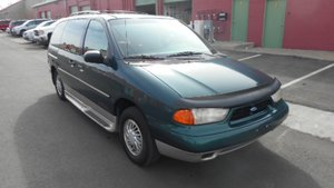Used Wheelchair Van For Sale: 1998 Ford Windstar  Wheelchair Accessible Van For Sale with a  on it. VIN: 2FMDA5144WBA57219