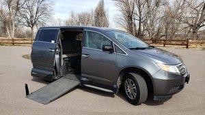 0bff9beea9 Used Wheelchair Van For Sale  2013 Honda Odyssey EX-L Wheelchair Accessible  Van For