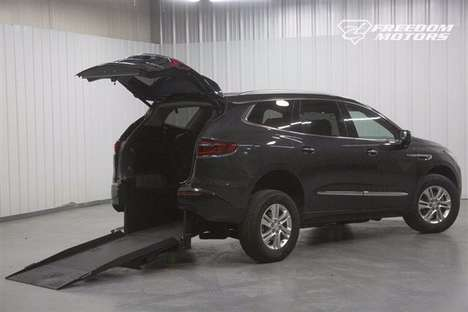 Used Wheelchair Van For Sale: 2019 Buick Enclave S Wheelchair Accessible Van For Sale with a  on it. VIN: 5GAERBKW0KJ265556