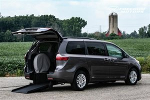 New Wheelchair Van For Sale: 2015 Toyota Sienna  Wheelchair Accessible Van For Sale with a XLE on it. VIN: 5TDYK3DC7FS676759