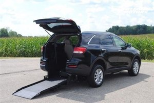 New Wheelchair Van For Sale: 2017 Kia Sorento  Wheelchair Accessible Van For Sale with a LX V6 Wheelchair Accessible SUV on it. VIN: 5XYPG4A5XHG187717