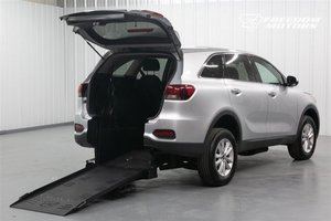 Used Wheelchair Van For Sale: 2019 Kia Sorento L Wheelchair Accessible Van For Sale with a Manual Rear Entry  Rear Entry Full-Cut 30.5 on it. VIN: 5XYPG4A5XKG559953