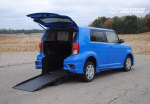 New Wheelchair Van For Sale: 2011 Scion Xb  Wheelchair Accessible Van For Sale with a 5-Door Wagon 5-Spd MT Wheelchair Car on it. VIN: JTLZE4FE9B1139323