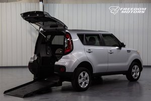 Used Wheelchair Van For Sale: 2019 Kia Soul S Wheelchair Accessible Van For Sale with a Automatic (No Kneel) Rear Entry Rear Entry 32 on it. VIN: KNDJN2A28K7660492