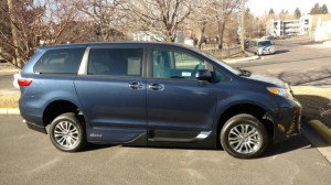 Used Wheelchair Van For Sale: 2018 Toyota Sienna XLE Wheelchair Accessible Van For Sale with a VMI - Toyota NorthstarAccess360 on it. VIN: 5tdyz3dc9js908718