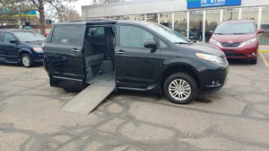 Used Wheelchair Van For Sale: 2017 Toyota Sienna XLE Wheelchair Accessible Van For Sale with a VMI - Toyota NorthstarAccess360 on it. VIN: 5tdyz3dc2hs774824