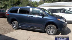 Used Wheelchair Van For Sale: 2018 Toyota Sienna XLE Wheelchair Accessible Van For Sale with a VMI - Toyota NorthstarAccess360 on it. VIN: 5TDTZ3DC9JS908718