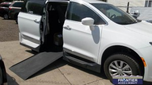 Used Wheelchair Van For Sale: 2017 Chrysler Pacifica  Wheelchair Accessible Van For Sale with a VMI - Chrysler Pacifica Northstar Access360 by VMI on it. VIN: 2C4RC1BG9HR527521