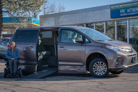 New Wheelchair Van For Sale: 2020 Toyota Sienna XLE Wheelchair Accessible Van For Sale with a VMI - Toyota NorthstarAccess360 on it. VIN: 5TDYZ3CD3LS051881