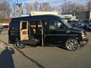 Used Wheelchair Van For Sale: 2017 Chevrolet Express EX Wheelchair Accessible Van For Sale with a Non Branded Wheelchair Lift & Tiedowns on it. VIN: 1GCWGAFG4H1119823