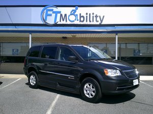 Used Wheelchair Van For Sale: 2010 Chrysler Town & Country LX Wheelchair Accessible Van For Sale with a BraunAbility Chrysler Entervan II on it. VIN: 2A4RR4DE3AR199072