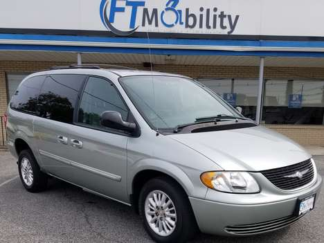 Used Wheelchair Van For Sale: 2004 Chrysler Town & Country Touring Wheelchair Accessible Van For Sale with a BraunAbility Chrysler Power Rear Entry on it. VIN: 2C4GP54L64R611741