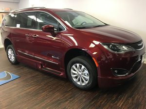 New Wheelchair Van For Sale: 2018 Chrysler Pacifica Touring Wheelchair Accessible Van For Sale with a BraunAbility Chrysler Entervan Xi Infloor on it. VIN: 2C4RC1BG2JR136314