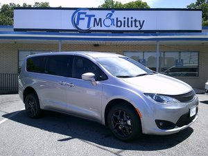 New Wheelchair Van For Sale: 2019 Chrysler Pacifica Touring Wheelchair Accessible Van For Sale with a BraunAbility Chrysler Manual Rear Entry on it. VIN: 2C4RC1FG4KR613837