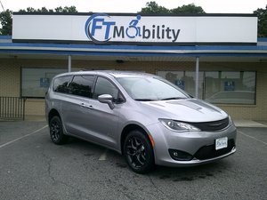 New Wheelchair Van For Sale: 2019 Chrysler Pacifica Touring Wheelchair Accessible Van For Sale with a BraunAbility Chrysler Manual Rear Entry on it. VIN: 2C4RC1FG8KR643777