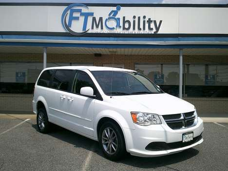 Used Wheelchair Van For Sale: 2016 Dodge Grand Caravan SE Wheelchair Accessible Van For Sale with a FR Wheelchair Vans Dodge Rear Entry on it. VIN: 2C4RDGBG0GR143707