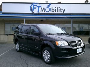 New Wheelchair Van For Sale: 2019 Dodge Grand Caravan SE Wheelchair Accessible Van For Sale with a BraunAbility Dodge Entervan XT on it. VIN: 2C7WDGBG3KR786146