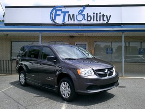 New Wheelchair Van For Sale: 2019 Dodge Grand Caravan SE Wheelchair Accessible Van For Sale with a BraunAbility Dodge CompanionVan Plus XT on it. VIN: 2C7WDGBG9KR678131
