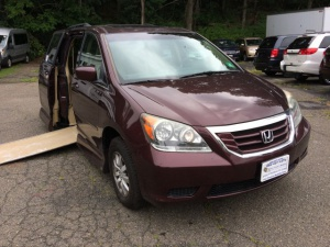 Used Wheelchair Van For Sale: 2008 Honda Odyssey EX-L Wheelchair Accessible Van For Sale with a VMI Honda Northstar on it. VIN: 5FNRL38758B115966