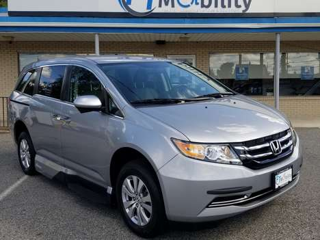 Used Wheelchair Van For Sale: 2016 Honda Odyssey Touring Wheelchair Accessible Van For Sale with a VMI Honda Northstar on it. VIN: 5FNRL5H4XGB019167