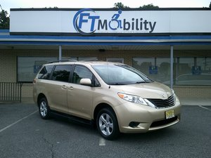 Used Wheelchair Van For Sale: 2012 Toyota Sienna Limited Wheelchair Accessible Van For Sale with a BraunAbility Toyota Rampvan XT on it. VIN: 5TDKK3DC0CS239610