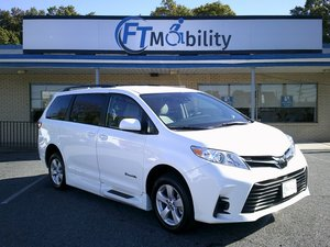 New Wheelchair Van For Sale: 2020 Toyota Sienna LE Wheelchair Accessible Van For Sale with a BraunAbility Toyota Rampvan XL on it. VIN: 5TDKZ3DC1LS045986