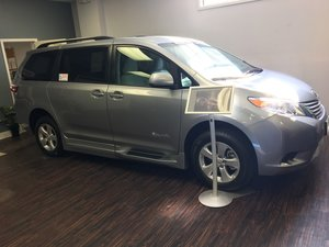 New Wheelchair Van For Sale: 2017 Toyota Sienna LE Wheelchair Accessible Van For Sale with a BraunAbility Toyota Rampvan Xi on it. VIN: 5TDKZ3DC6HS883888