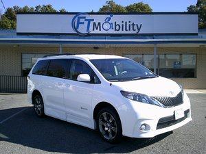 Used Wheelchair Van For Sale: 2012 Toyota Sienna SE Wheelchair Accessible Van For Sale with a BraunAbility Toyota Rampvan XT on it. VIN: 5TDXK3DC3CS221382