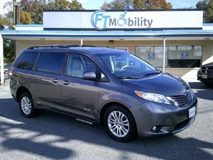 Used Wheelchair Van For Sale: 2014 Toyota Sienna SE Wheelchair Accessible Van For Sale with a Eldorado National Amerivan Toyota Amerivan RL on it. VIN: 5TDYK3DC1ES450036